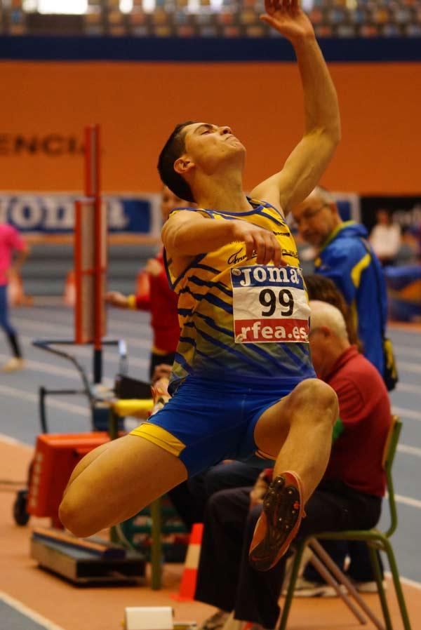 1ª Jornada XLII Cto. de España Junior en Pista Cubierta Valencia 07-03-2015