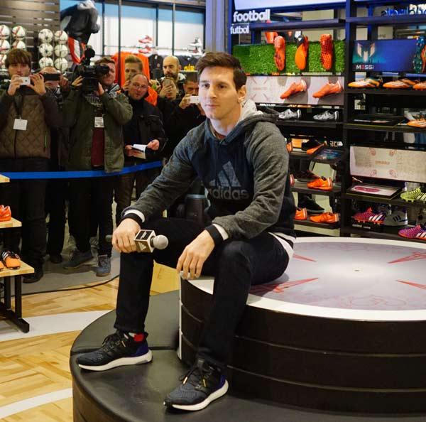 Adidas inaugura su tienda de Paseo de Gracia,3 Barcelona 19-02-2015