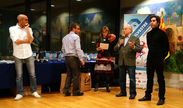 Entrega Premios Sant Silvestre Barcelonesa - Sant Cugat´2014 09-01-2015