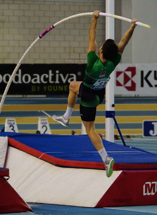 1ª Jornada 51ºCto de España de Atletismo en Pista Cubierta Antequera 21-02-2015