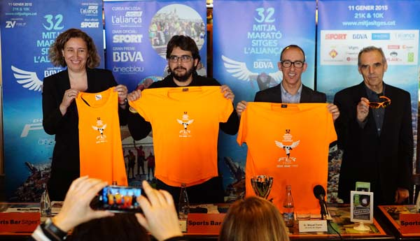 Presentación 32 Mitja Marató Sitges L´Aliança 2015