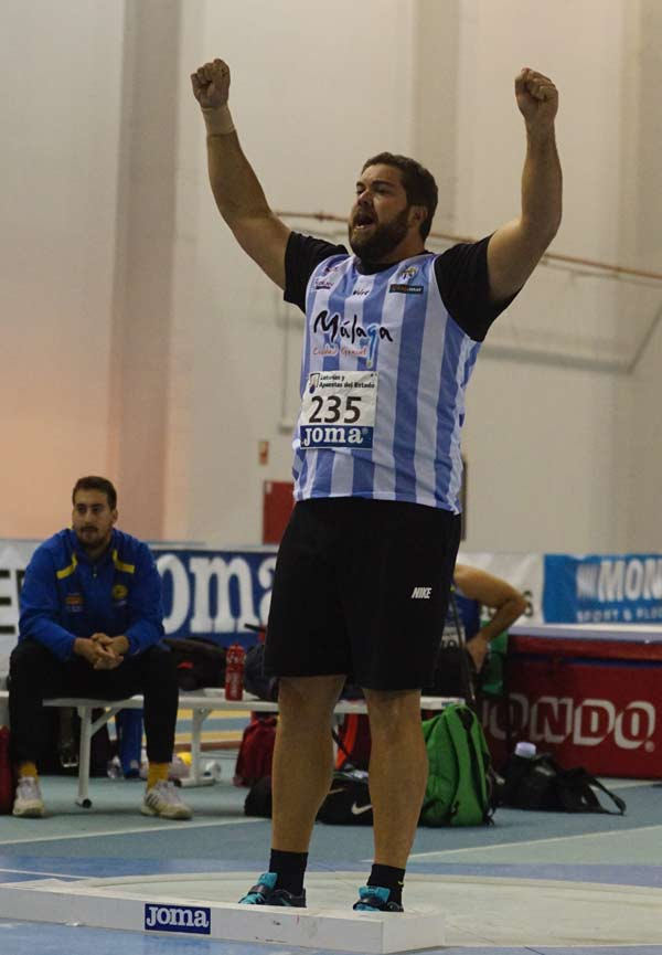 2ª Jornada 51ºCto de España de Atletismo en Pista Cubierta Antequera 21-02-2015