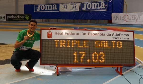 3ª Jornada 51ºCto de España de Atletismo en Pista Cubierta Antequera 22-02-2015