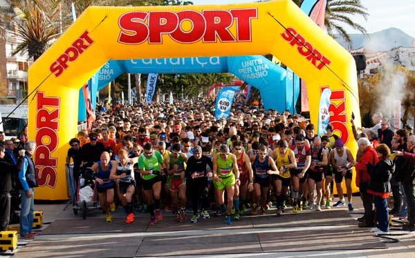 32ª Mitja l'Aliança i 4t Quart de Marató de Sitges l'Aliança (I) 11-01-2015
