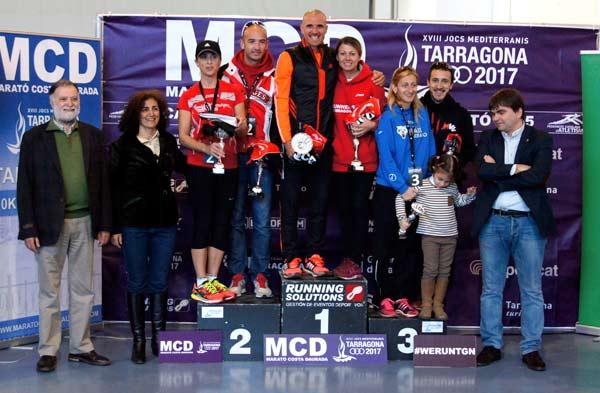 MCD Marató Costa Daurada 10K 30K 42K Cto. de Catalunya de Marató Tarragona (II) 18-01-2015