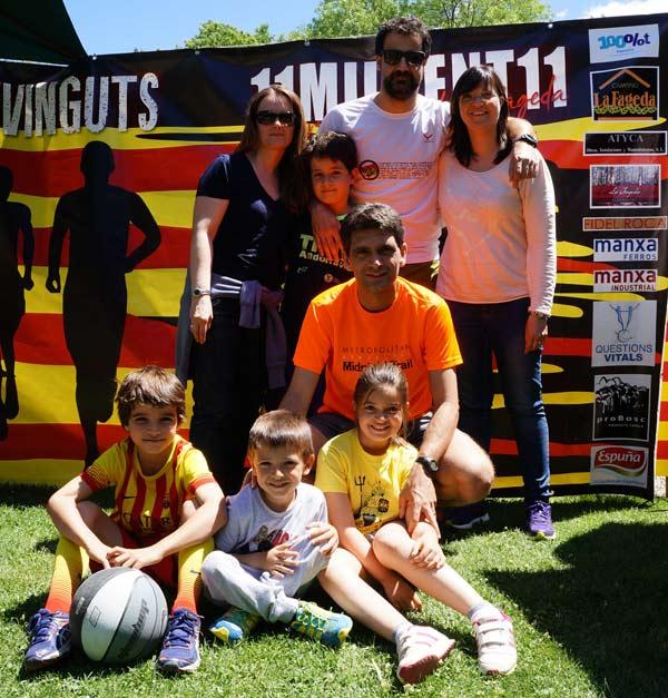 1ª Reportaje 6a Cursa Corre Pel Cor de la Fageda La Garrotxa 16-05-2015