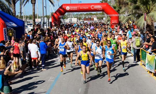 4ª Cursa 5 i 10 Km de Vilanova i la Geltrú 17-05-2015