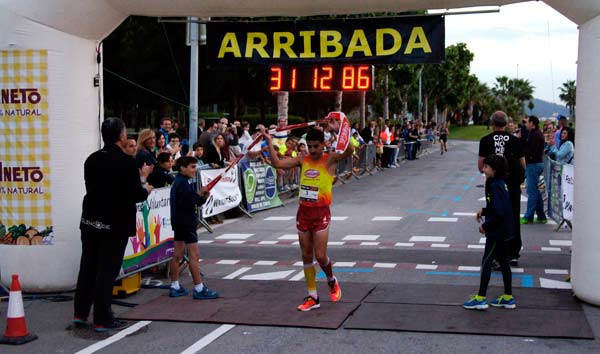 Cursa Sant Joan Despí 2015, llegada a Meta Primeros 5 Minutos