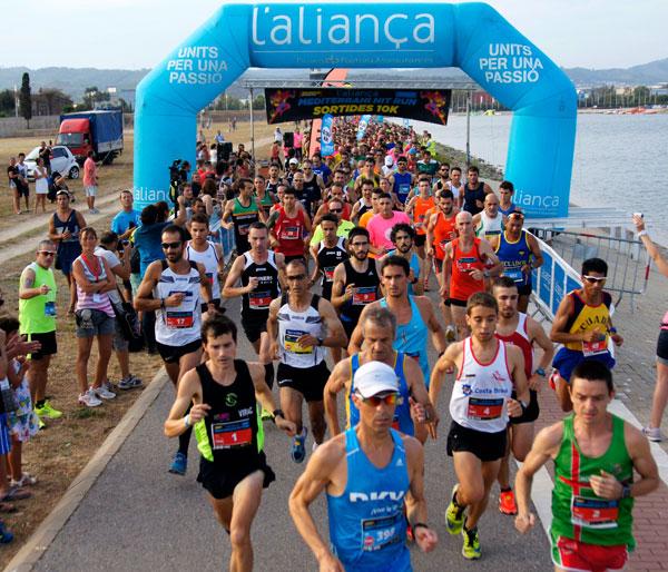 1a Cursa Mediterrani Nit Run L´Aliança Canal Olímpic de Catalunya a Castelldefels 18-07-2015