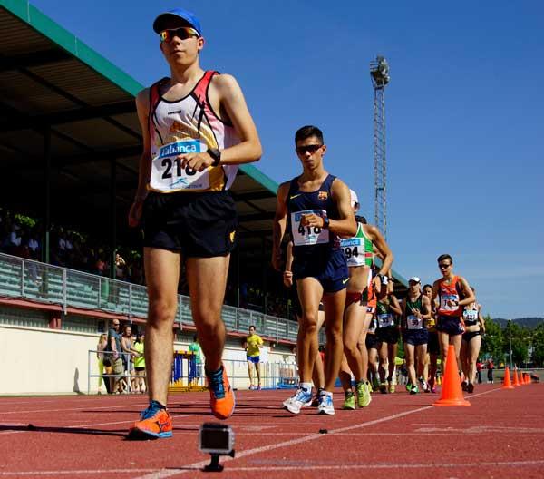 3ª Jornada Domingo Mañana Cto. de Cataluña de Atletismo Juvenil, Júnior y Promesa Lloret 21-06-2015