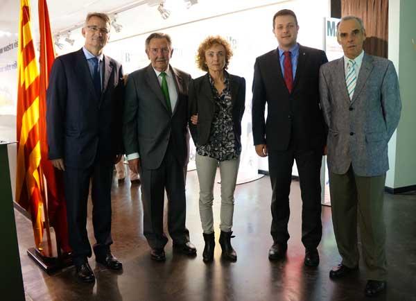 Presentación Exposición Centenario Federación Catalana de Atletismo 4-11-2015