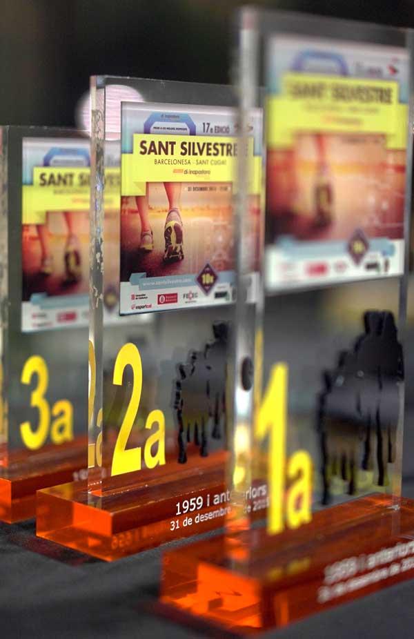 Entrega Premios San Silvestre Barcelonesa - Sant Cugat 08-01-2016