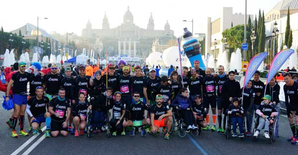 Zurich Marató de Barcelona Vs Egoísmo Positivo 13-03-2016