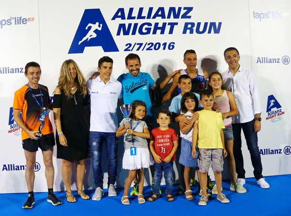 Allianz Night Run Circuito de Barcelona – Catalunya 02-07-2016