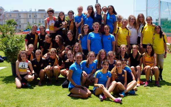 Cto. de Cataluña de Clubs Sub-20 Serrahima Barcelona 18-06-2016