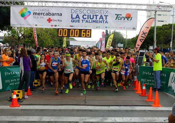 2ª Cursa Mercabarna 5K & 10K (I) Creu Roja 02-10-2016