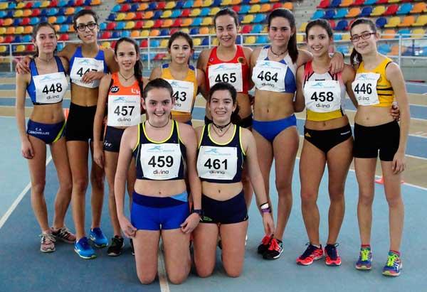 """Cto. de Cataluña de Clubs """"B"""" Pista Cubierta 07-01-2017"""