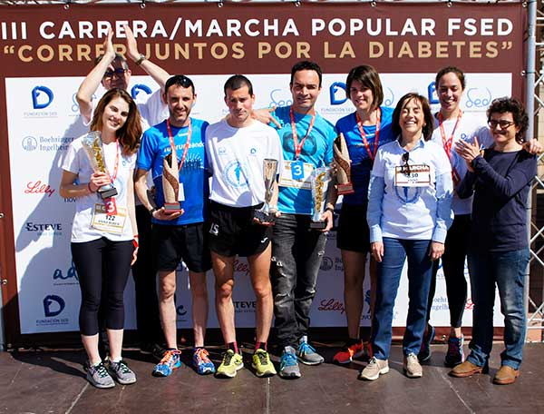 III CarreraMarcha Popular FSEC Correr Juntos por la Diabetes 8-04-2017