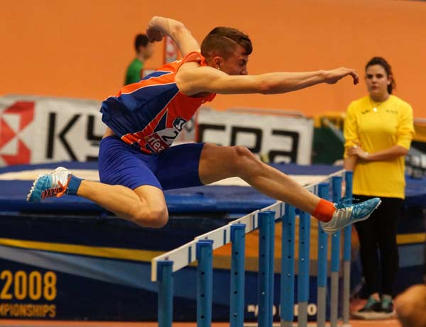 2ª Jornada XLII Cto. de España Junior en Pista Cubierta Valencia 07-03-2015