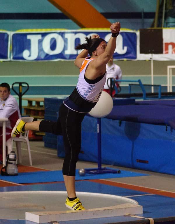 Gran Premio Ciudad de Zaragoza Pista Cubierta Palacio de los Deportes 07-02-2015