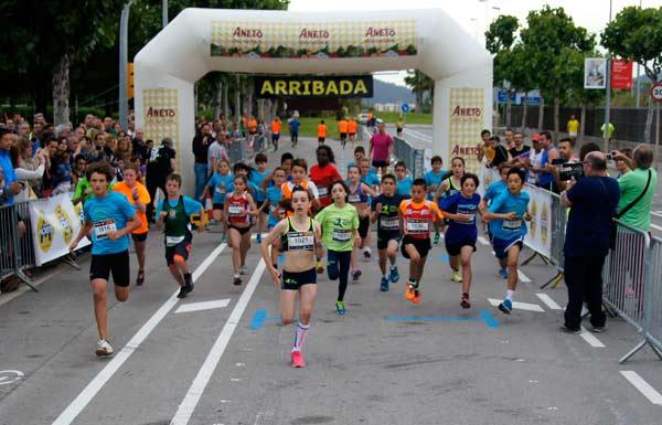 Cursa Sant Joan Despí 2015 Infantil Alevin 800mts