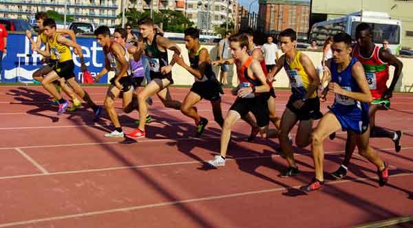 2ª Jornada Sábado Tarde Cto. de Cataluña de Atletismo Juvenil, Júnior y Promesa Lloret 20-06-2015