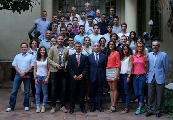 Presentación Equipo Ganador de Trofeo Federaciones`2015 17-09-2015