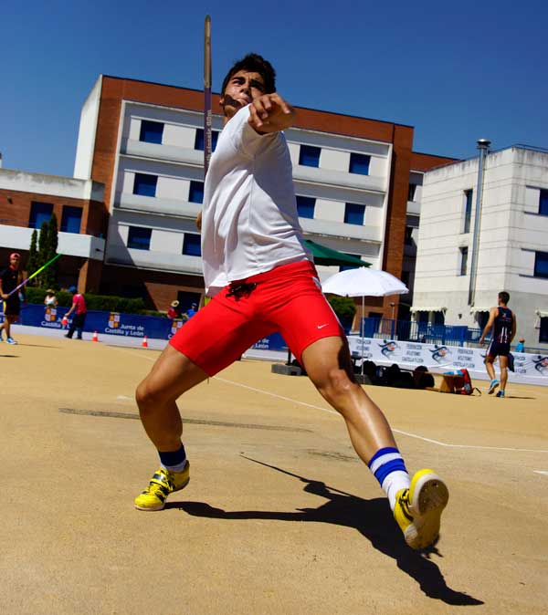 1ª Jornada Cto. de España Júnior de Atletismo Valladolid Rio Esgueva 4-07-2015