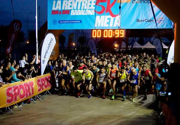 La Rentrée Run & Bike Badalona L´Aliança Gran Premio IberCaja 26-09-2015