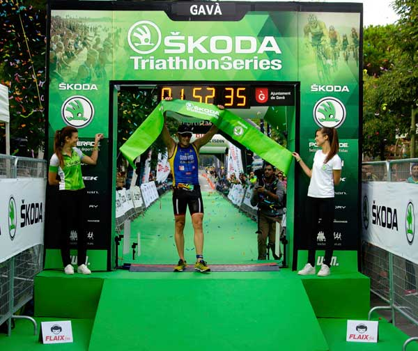 SKODA Triathlon Series Gavà 25-10-2015