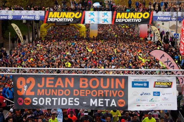 92 Jean Bouin Cursa OPEN 5K y 10K Ambiente y Salida 22-11-2015