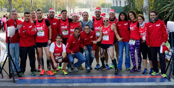 Cursa Caminada de Nadal Solidaria Per un Somriure Sant Joan Despí 19-12-2015