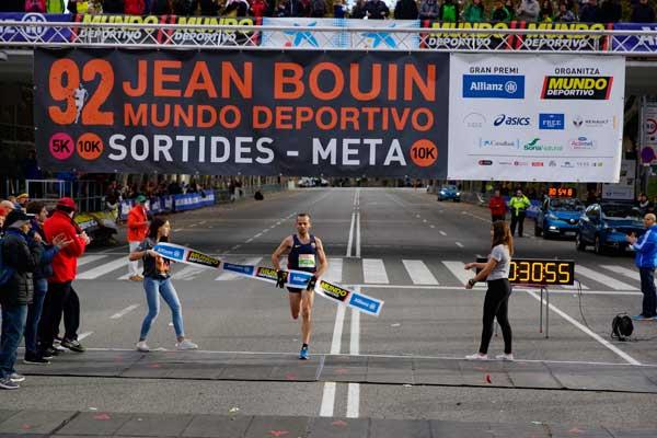 92 Jean Bouin Entrada 10Km Meta Montjuít 22-11-2015