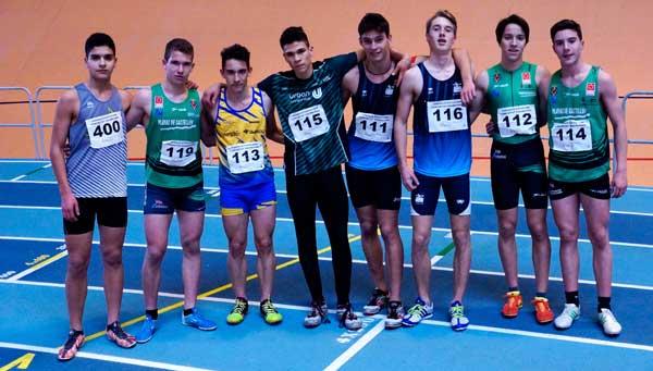 Cto. Autonómico Juvenil y Junior Pruebas Combinadas Pista Cubierta Valencia 31-01-2016