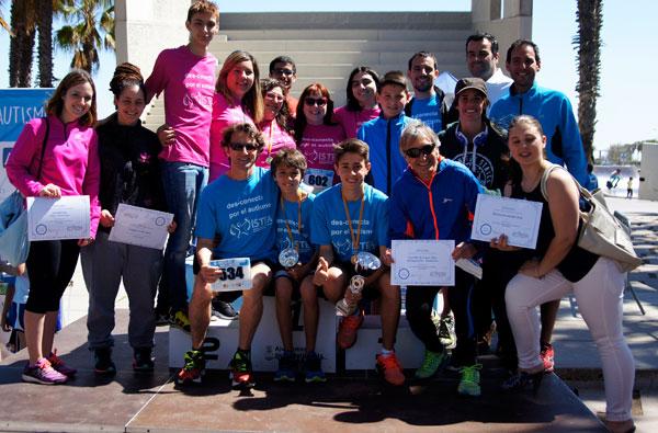 IV Cursa Des-Conecta Por el Autismo Castelldefels 24-04-2016