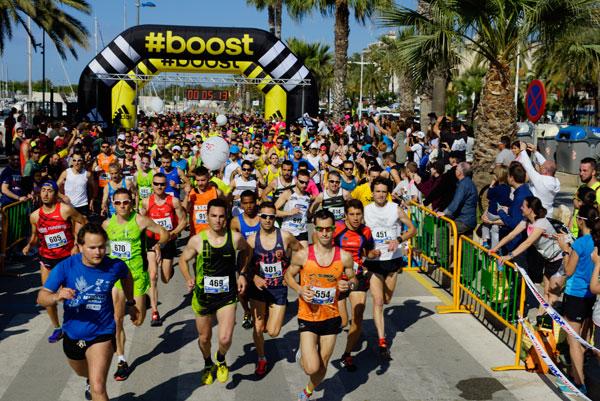 5ª Cursa 5k y 10k Ciutat de Vilanova 15-05-2016