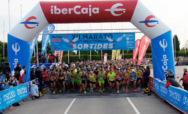 XII Marató del Mediterrani 5K y 21K Canal Olímpico Bcn (II) 12-10-2016