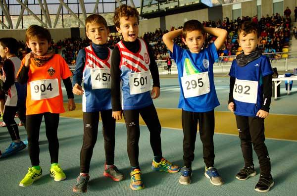 Trofeu Sabadell de Promoció en pista coberta (4t. Memorial Natàlia Amiel) 11-12-2016